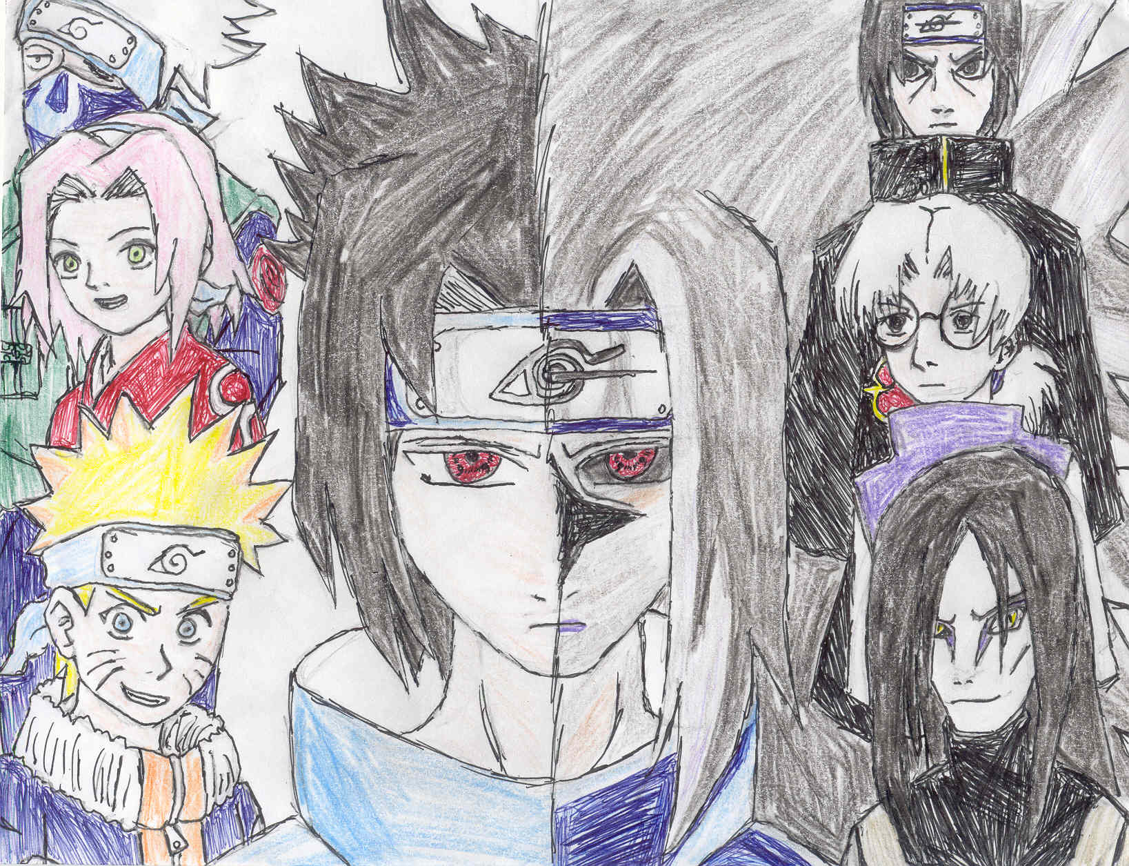 Sasuke's revolution by MageKnight007