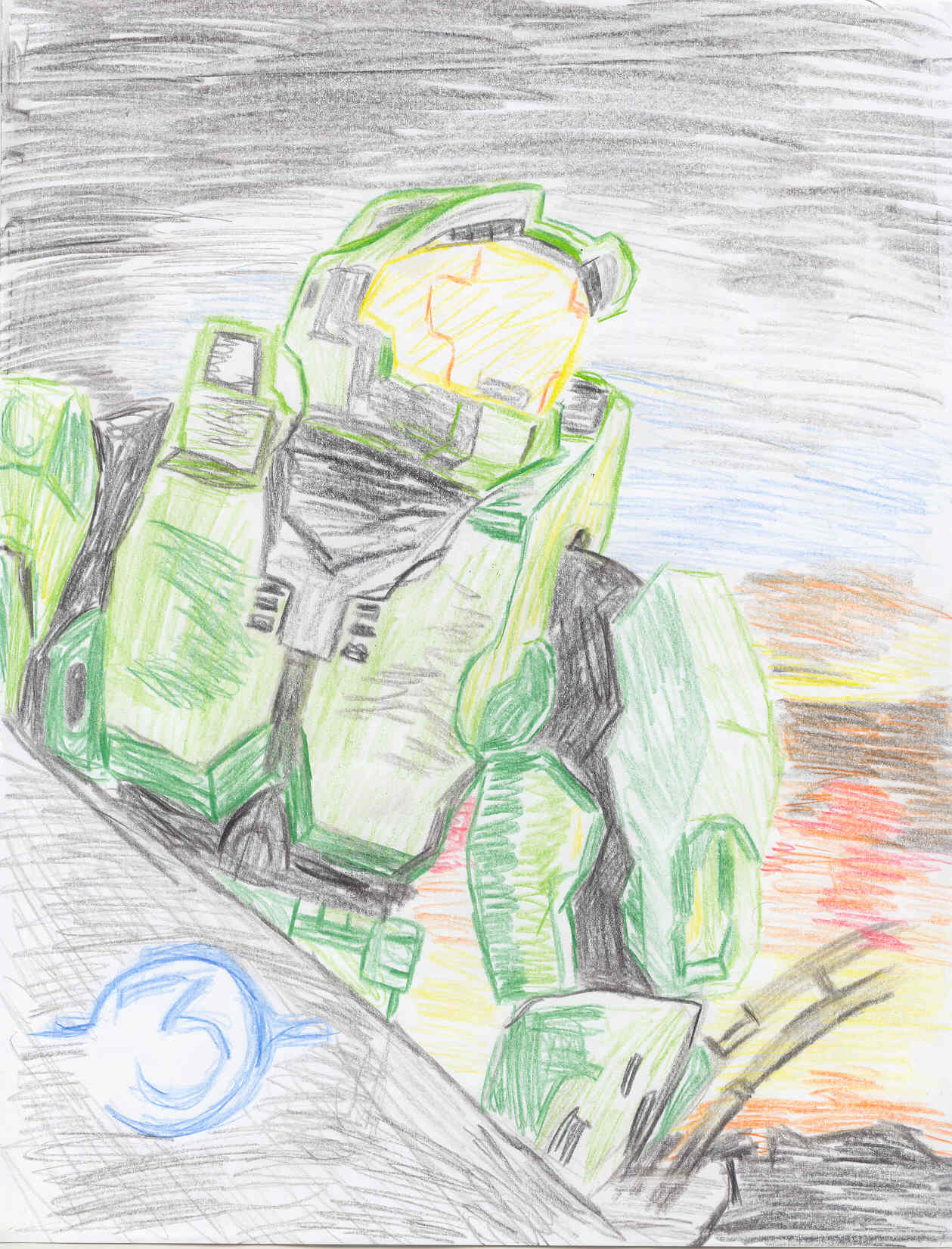 Halo3 by MageKnight007