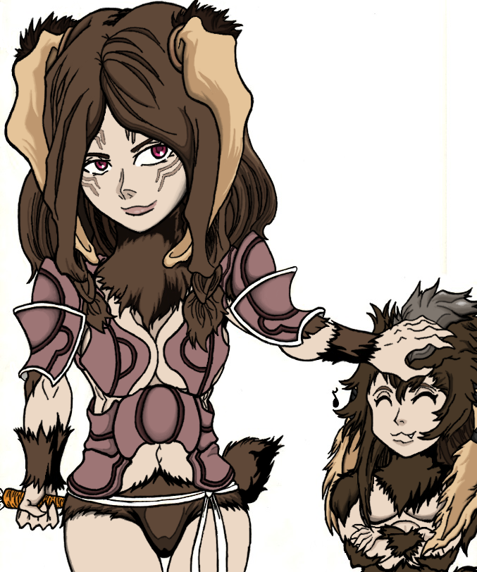 Panne and Lil' Yarne Digital by MageKnight007