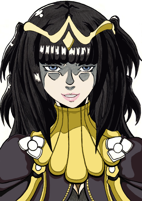 Tharja Bust by MageKnight007