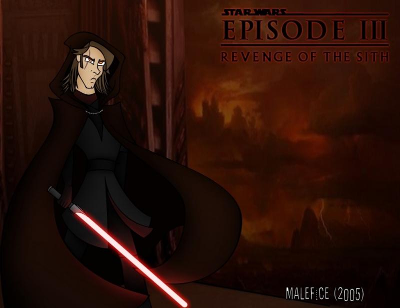 Anakin Skywalker (Clone Wars Style) by Malefice