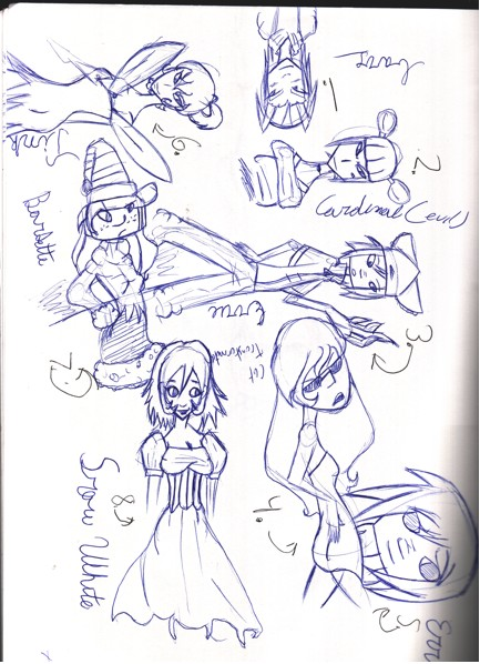 Doodles by Malosis555