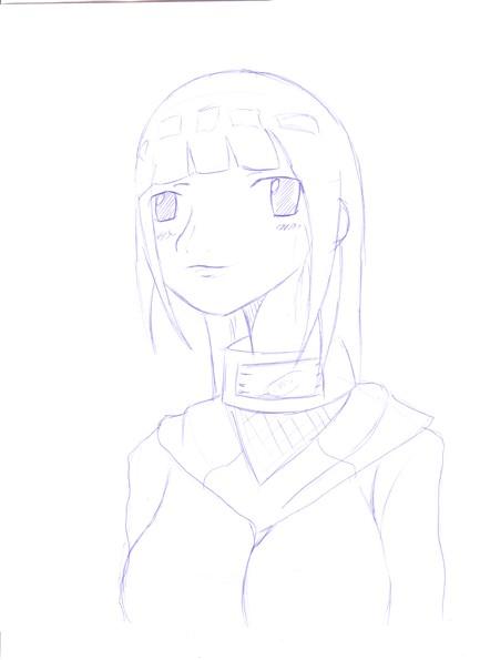 Hinata Sketch by Malosis555