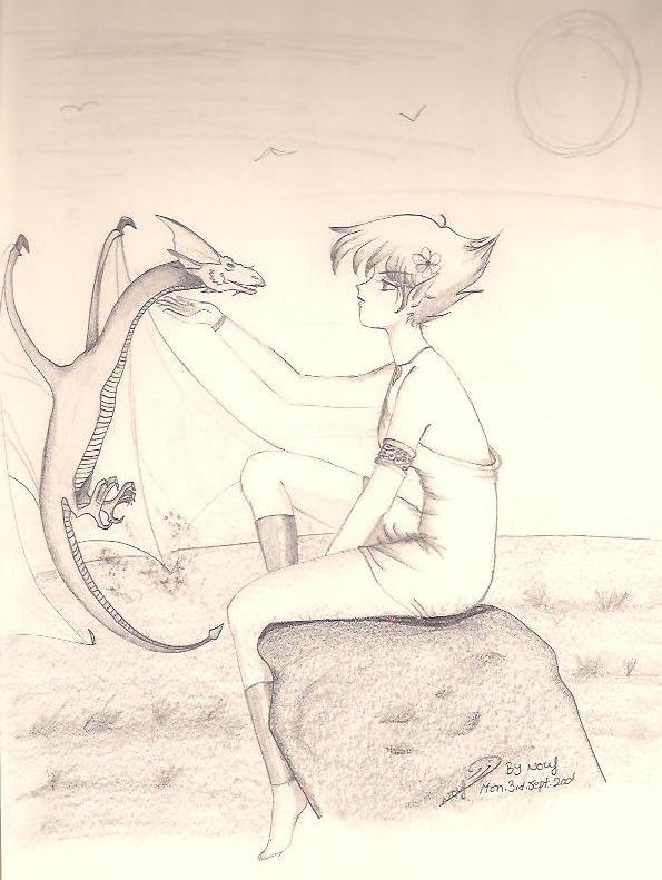 Dragon Whisperer by Mamosha80
