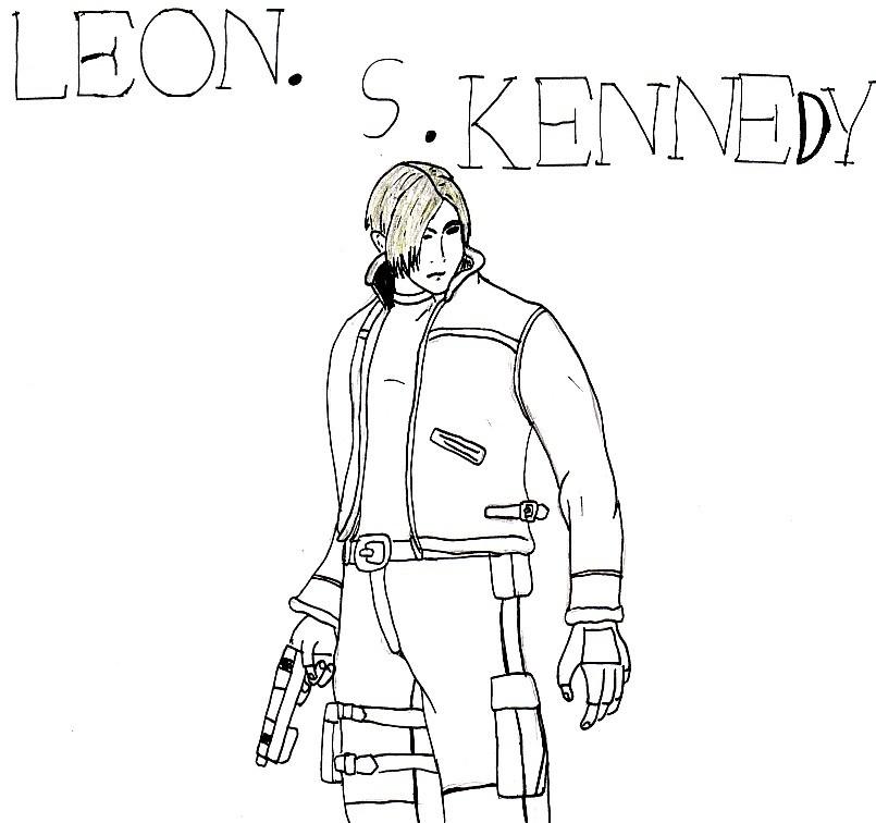 Leon by ManGaMadGirl