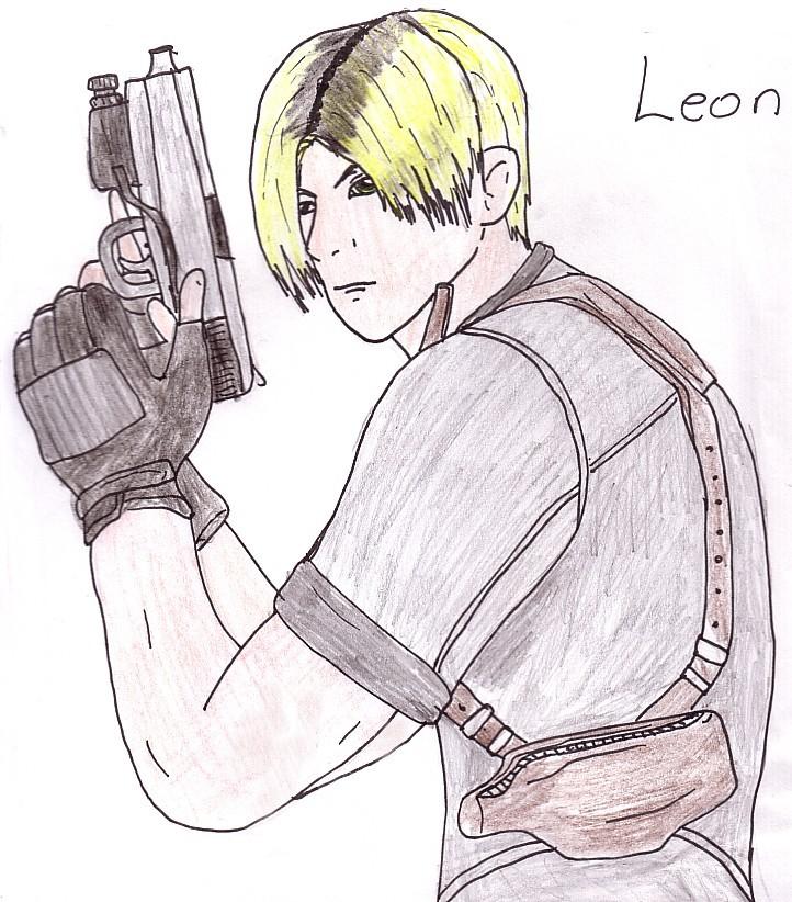 Leon #1 by ManGaMadGirl