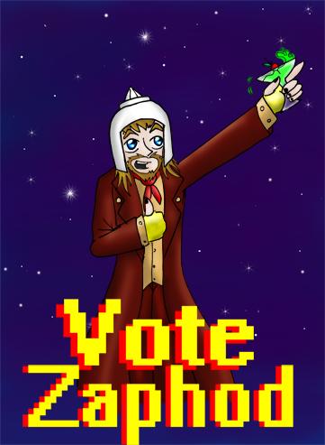 vote zaphod! by ManiacTHP