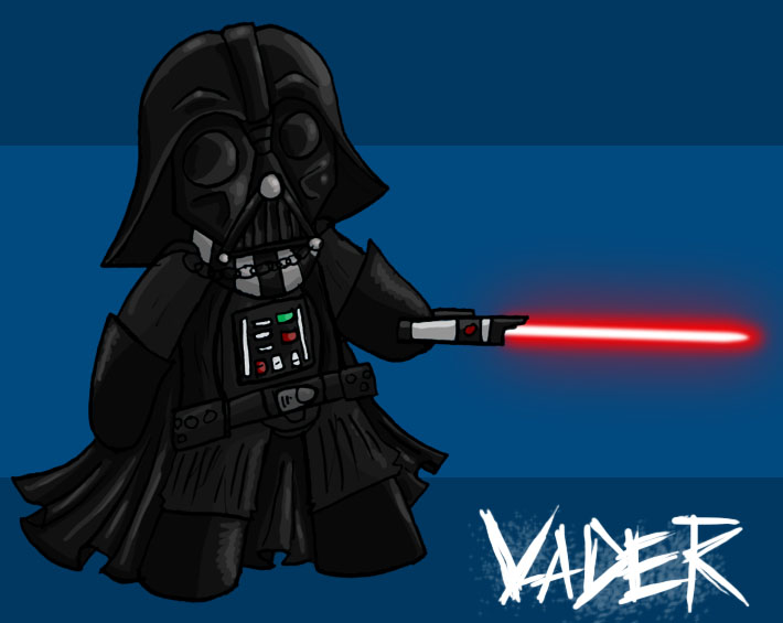 Chibi Darth Vader by ManiacTHP