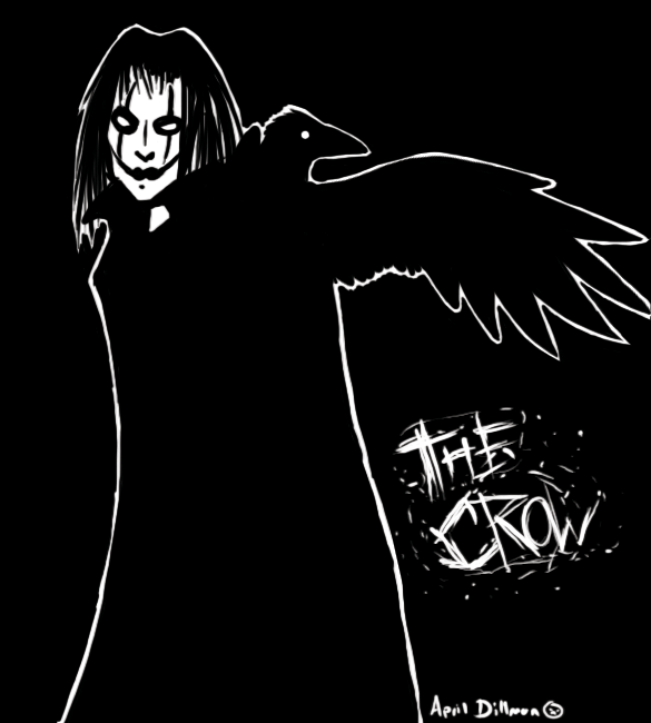 The Crow by ManiacTHP