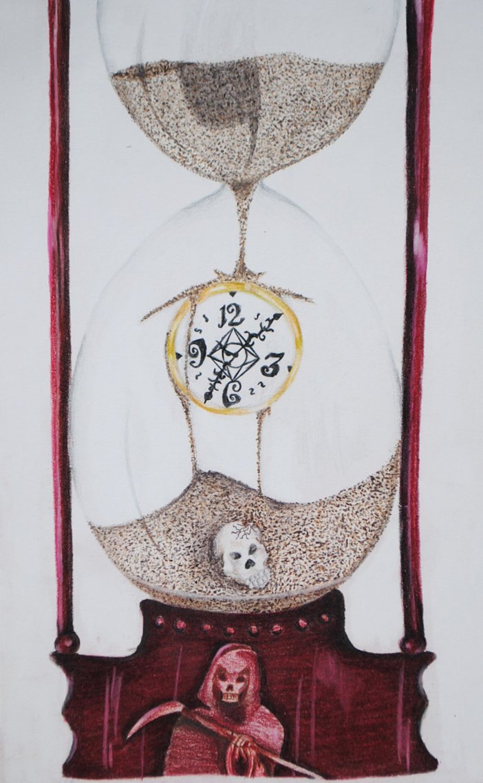Deaths Hour Glass by MarcusTheMan