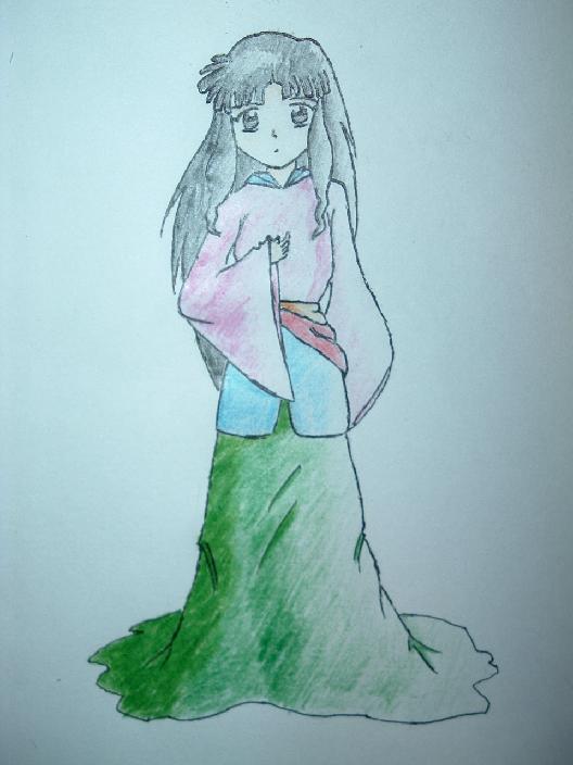 A Princess Sango *Colored* by Maria