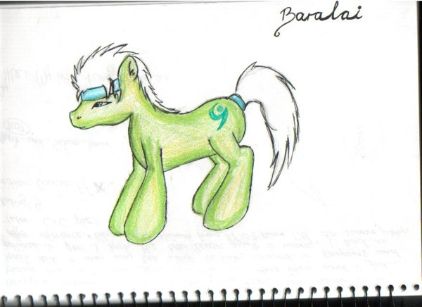 My little pony Baralai by Marik_and_Bakura_lover