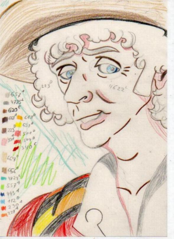Farbkizze by Marilyn