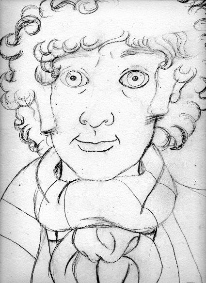Mr. Baker - Sketch by Marilyn