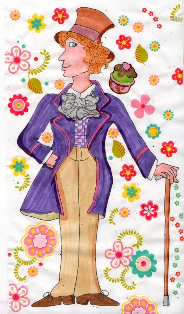 Willy wonka by Marilyn