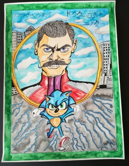 Sonic and the Doctor by Marilyn