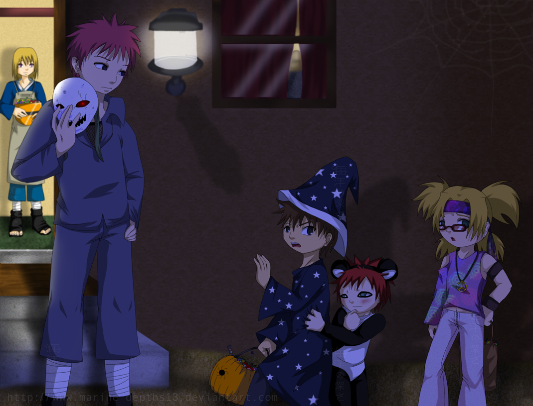 Trick or .. Scare? by Marine_Depths13
