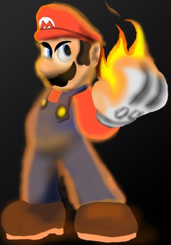 Mario's Flames by MarioMikuHaruhiFan38