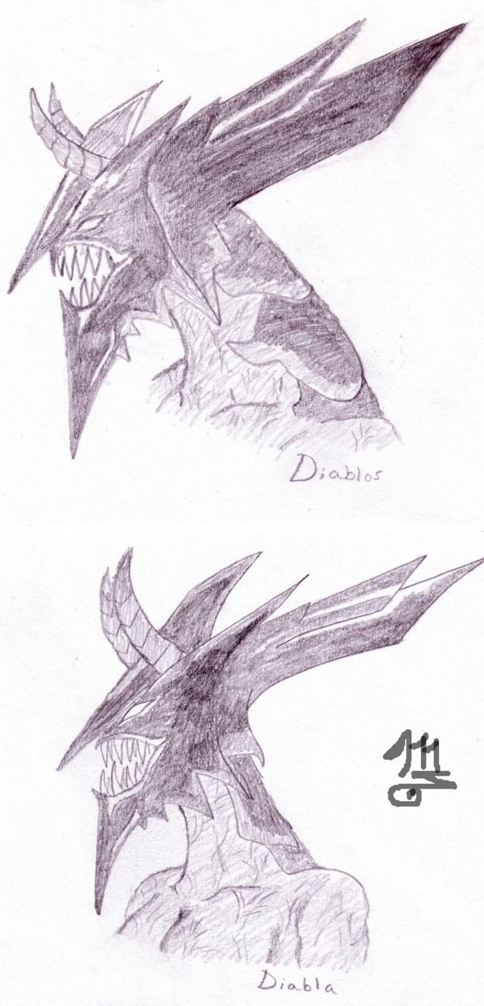 Diablos and Diabla by Mariroth