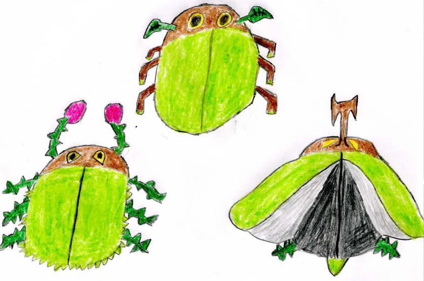 Beetleaf, New Grass Starter, and Evolutions by MasterShyGuy