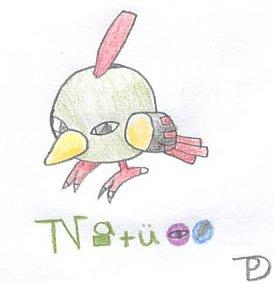 Natu (Pokedex) by Maxdknife