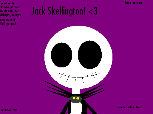 Jack on MS Paint by MeLovesIZandNbC
