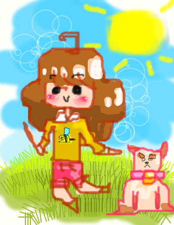 Bee and PuppyCat Doodle by MeMewSun