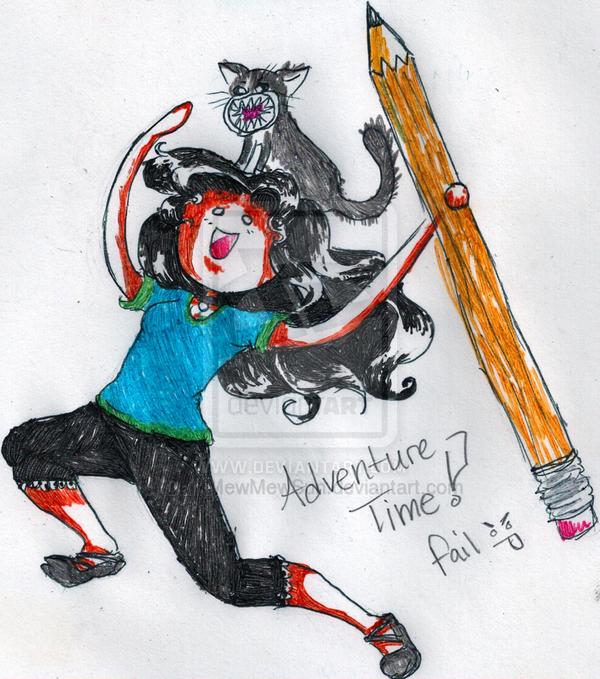 Adventure Time Flop by MeMewSun