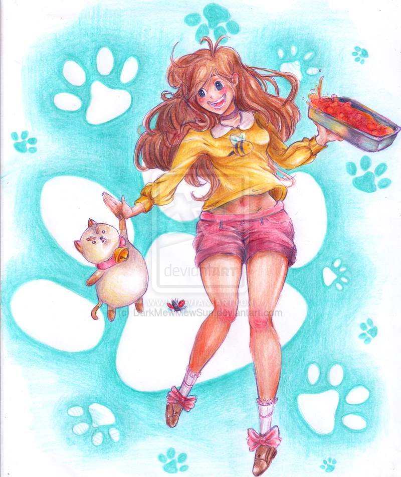 BEE and PUPPYCAT by MeMewSun