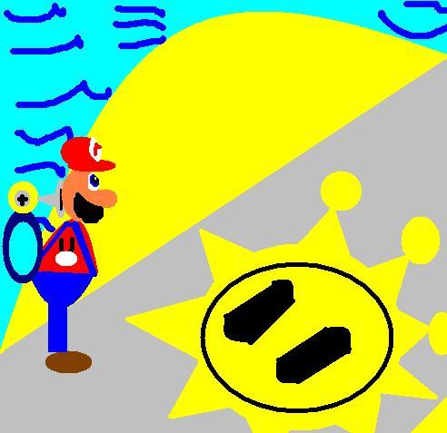 Super Mario Sunshine by MechaSonic43