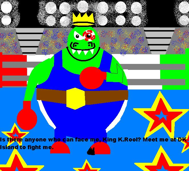 Boxing K.Rool by MechaSonic43