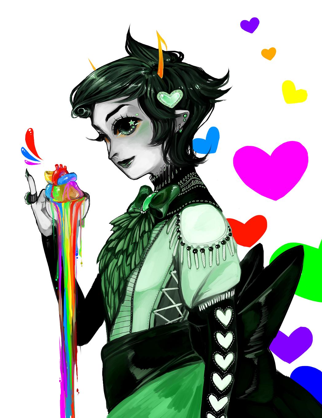 rainbow drinker by Mechanism