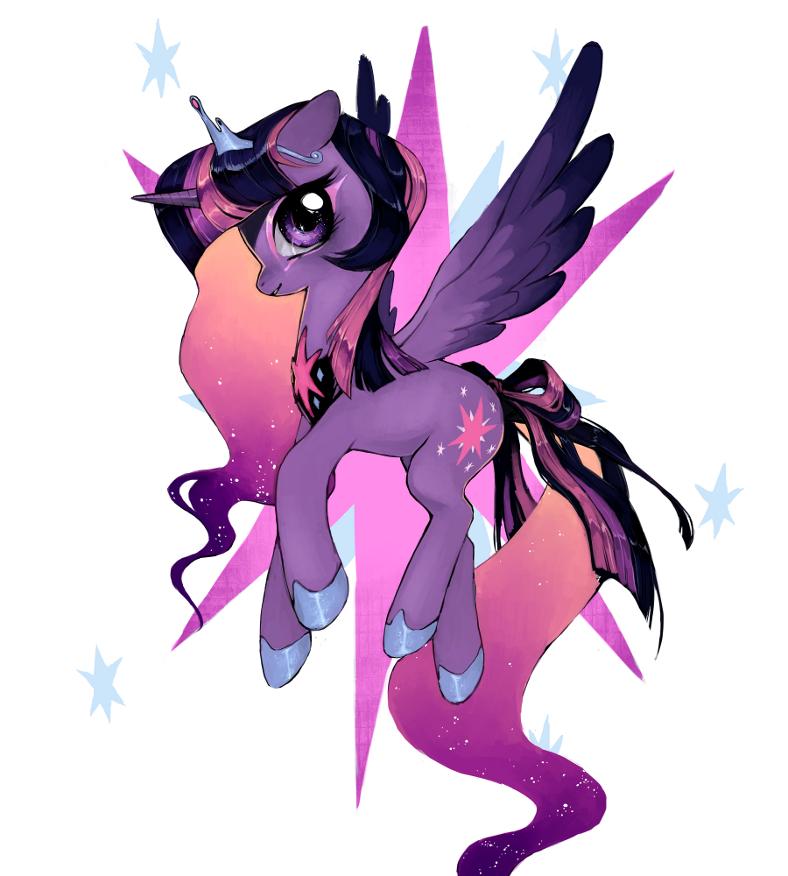 princess twilight sparkle by Mechanism