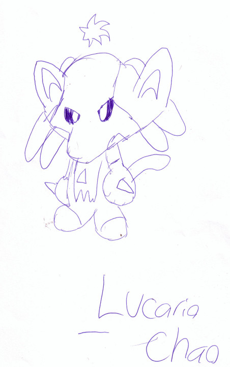 Lucario chao! by Meegee64