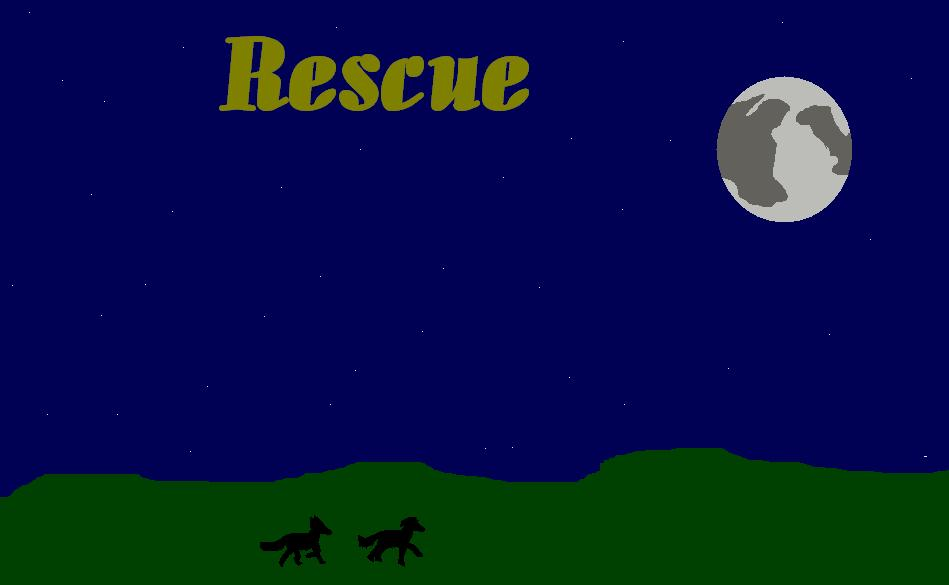 Maybe) The cover for 'Rescue' by MeiMei