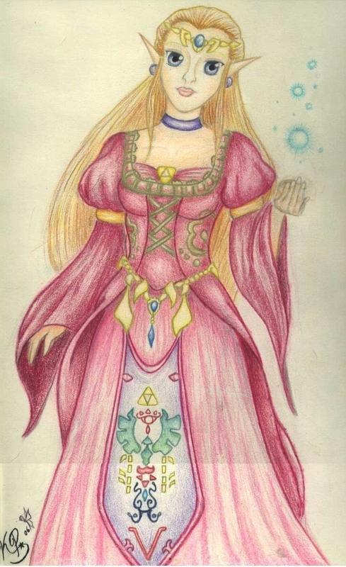 Princess Zelda by MelfinaRose