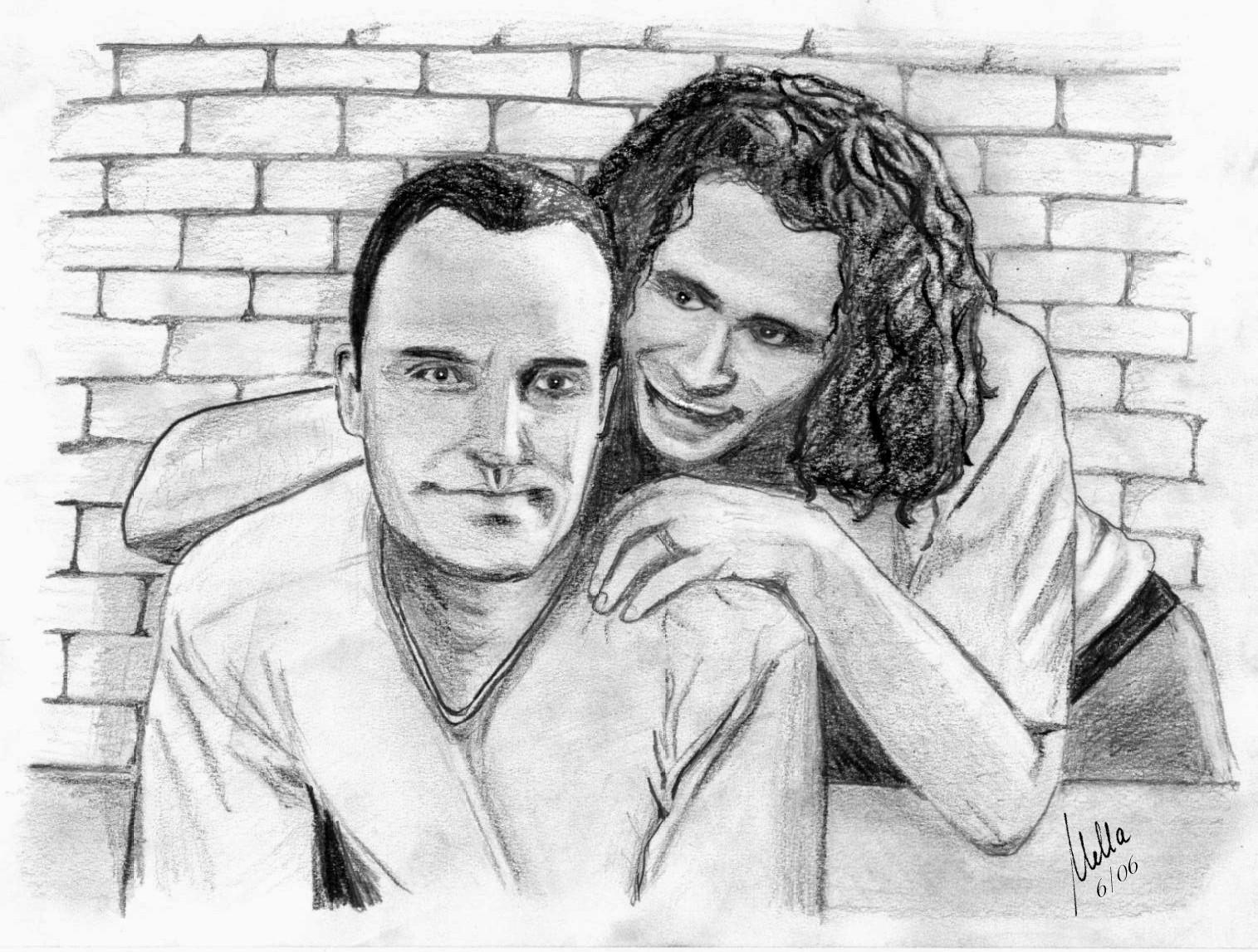 Jim and Blair 2 by Mella68