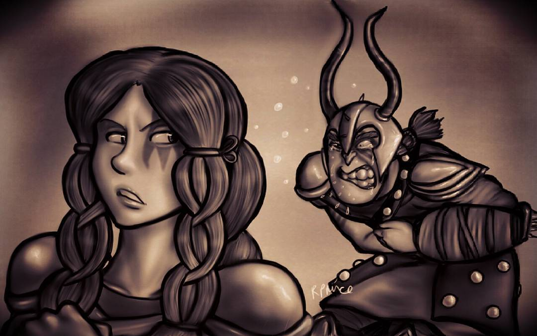 Dagur and Rae - Say That Again by MeltyCat
