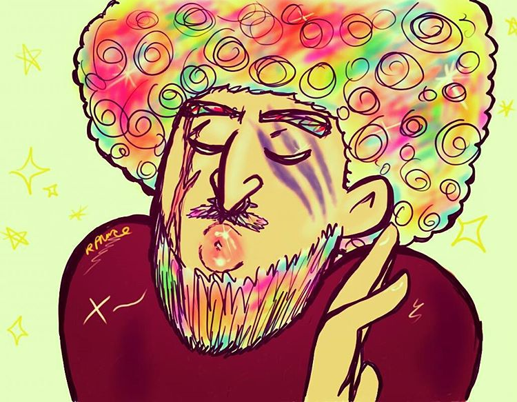 Rainbow Fro Dagur BEARDY by MeltyCat