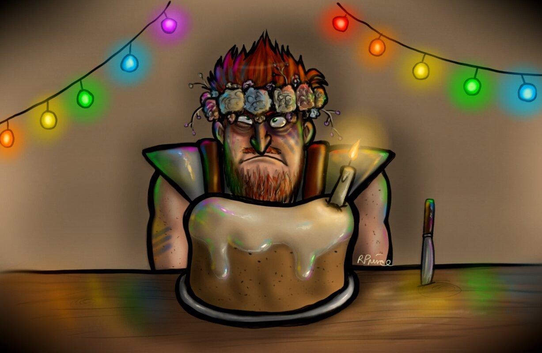 The Birthday Berserker by MeltyCat
