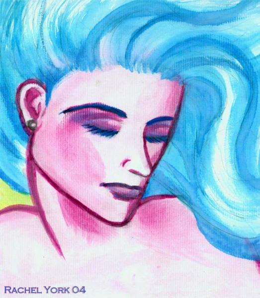 Sorrow Girl by MercyfulQueenDiamond