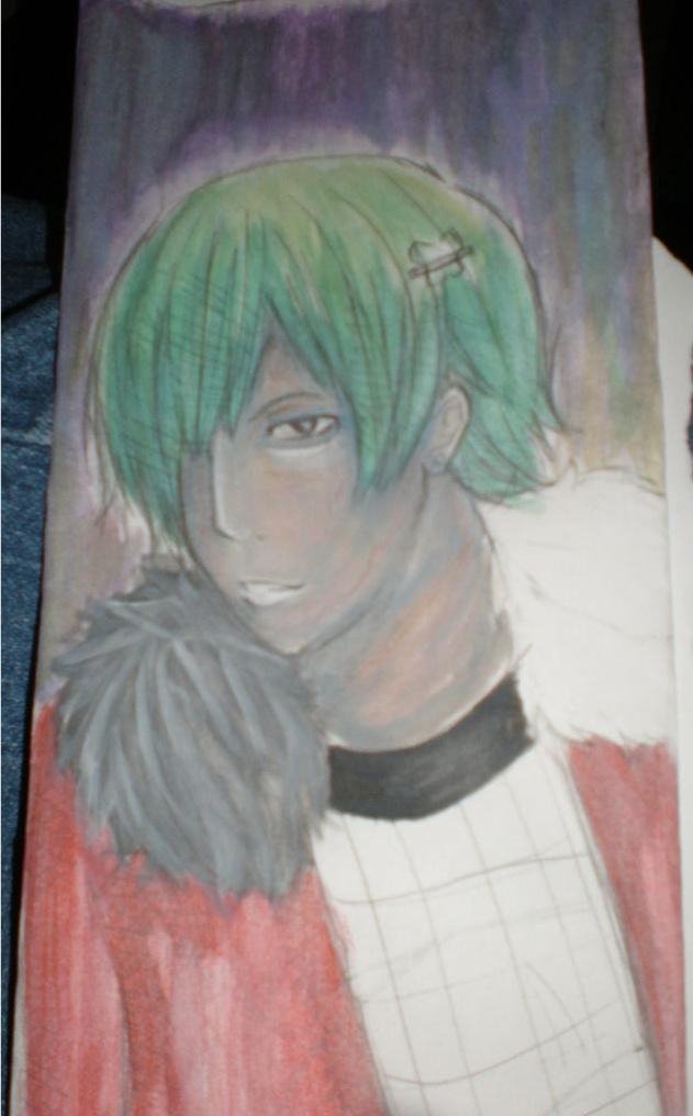 Watercolor Atticus by MeruMeru