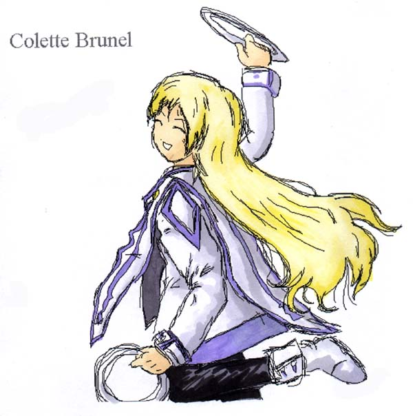 Colette Oekaki(Marker colored) by Metal_Overlord