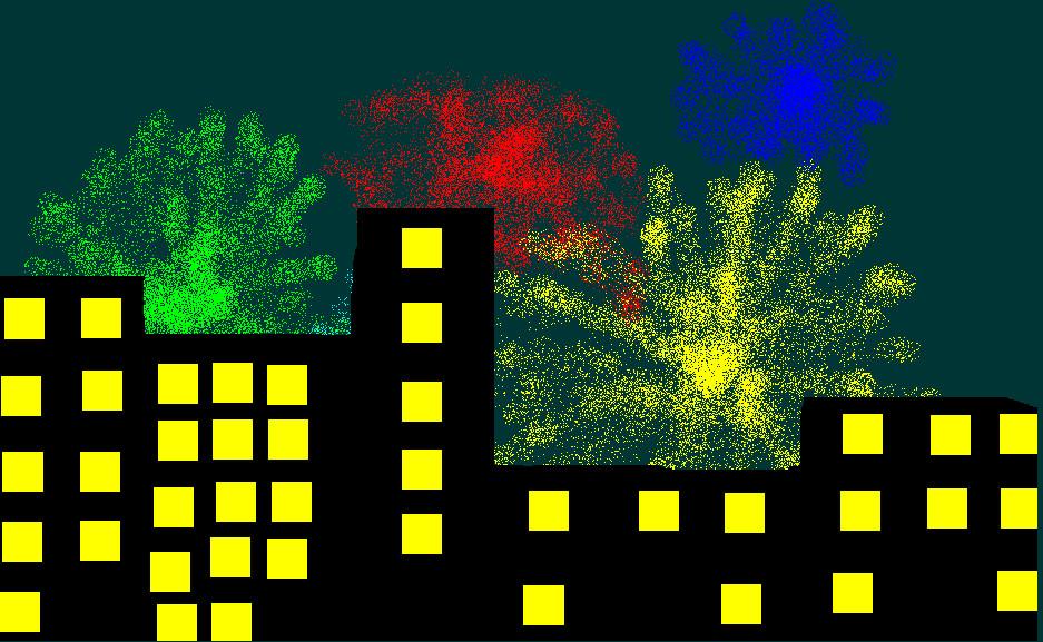 City Fireworks by Metalicnacho