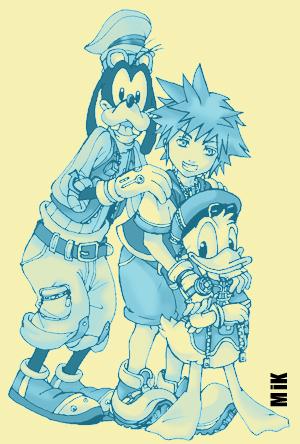 Kingdom Hearts by MiKmix