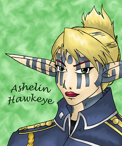 Ashelin Hawkeye by Midnight_Chaos
