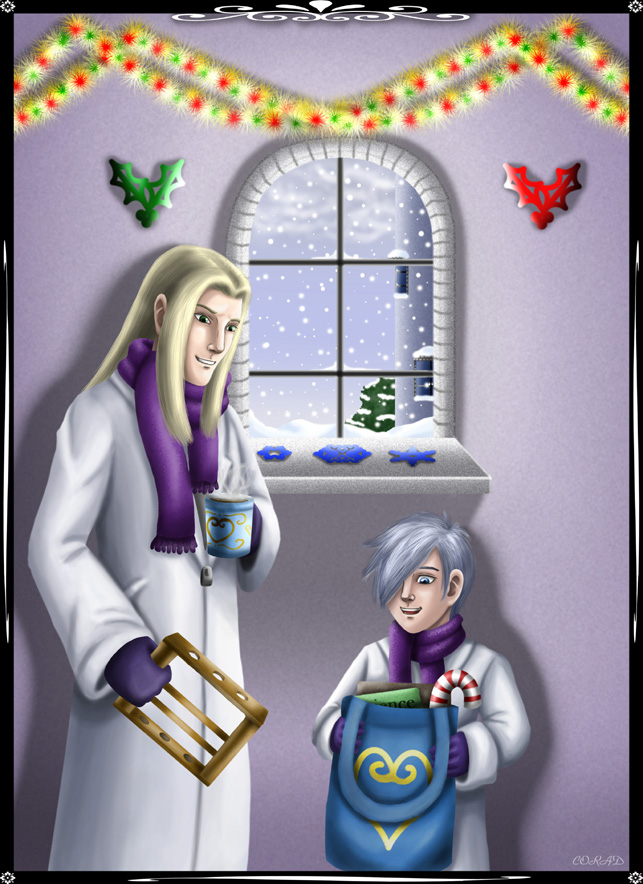A Radiant Christmas by Midnight_Chaos