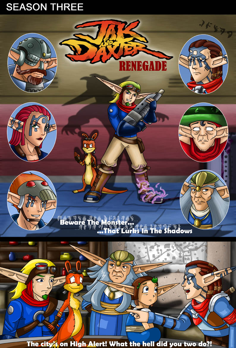 Jak and Daxter - Renegade by Midnight_Chaos