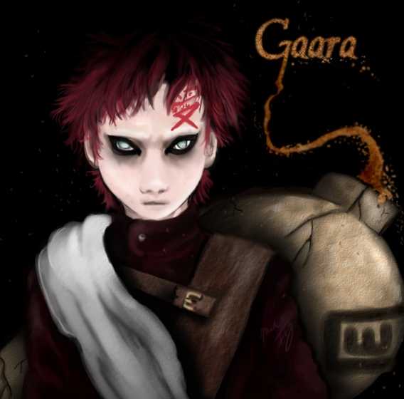*Naruto - Gaara by Mik