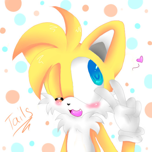 Tails the fox by Milesprower_Fox